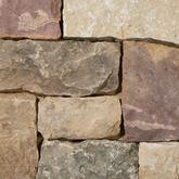 40% Dark / 40% Brown / 20% Plum - Squares & Strips