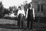 Martha and Warren Lewis - 1913 - Warren built the house, which stood until 2008. Their descendants are still warrington residents.