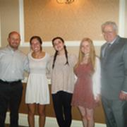 GBMCC Scholarship Committee Co-Chairs with Award Winners