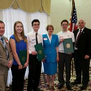 Warminster Township presenting Scholarship Awards - 2016 Luncheon