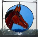 Horse Head - Great Christmas gift measures 10 x 10