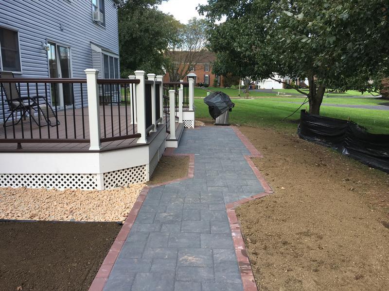 Bucks County Hardscaping Contractors Patio Paving Walkway