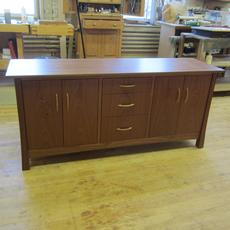 Mahogany Sideboard - For use in an office or dining room