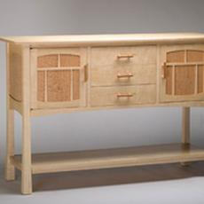 Tiger Maple Sideboard - Tiger Maple Sideboard