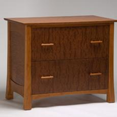 Cherry Lateral File Cabinet - Cherry Lateral File Cabinet