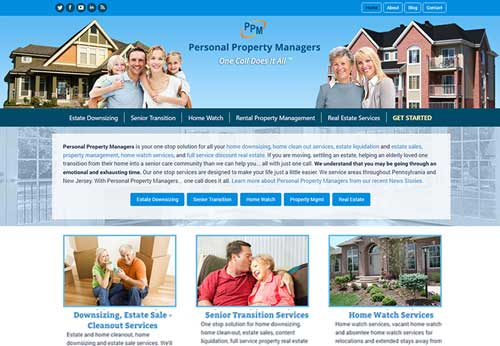 Property Management Website