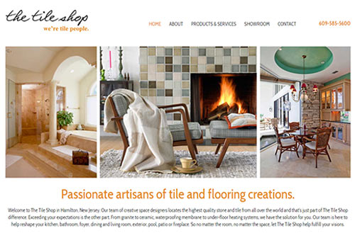 The Tile Shop Website