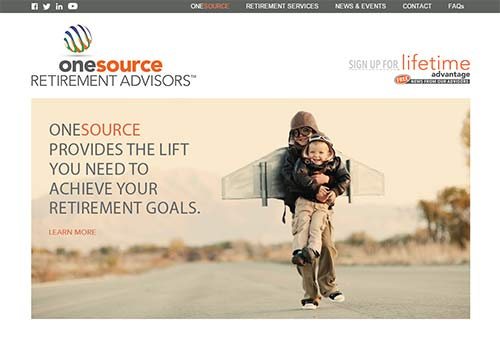 Financial Planner Website